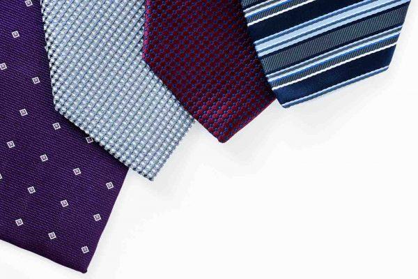Le diverse tipologie di cravatta