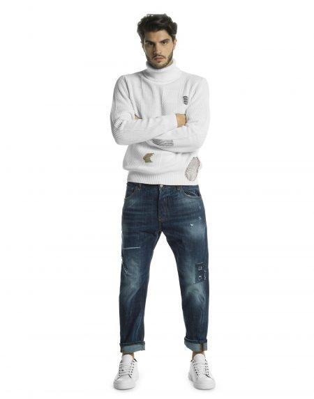 Jeans gold lav103