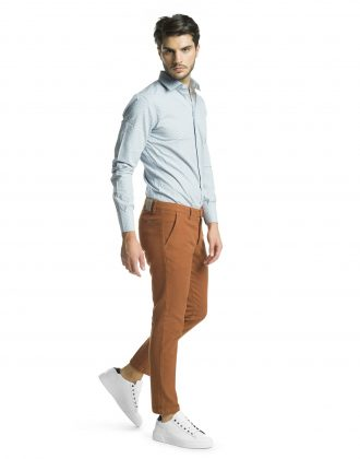 Pantalone righetto bruciato