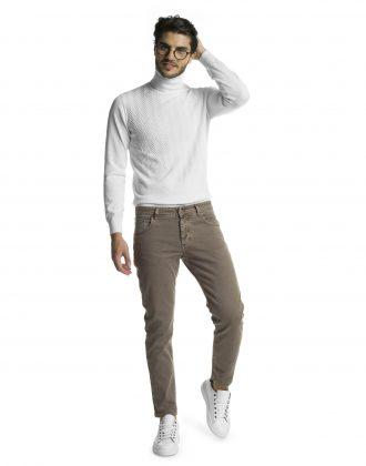Pantalone silver fango