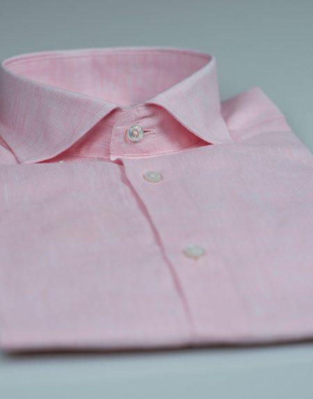 Camicia clino rosa