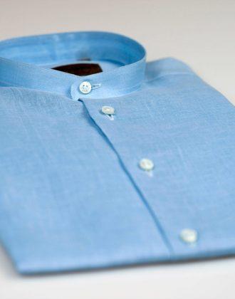 Camicia corea celeste