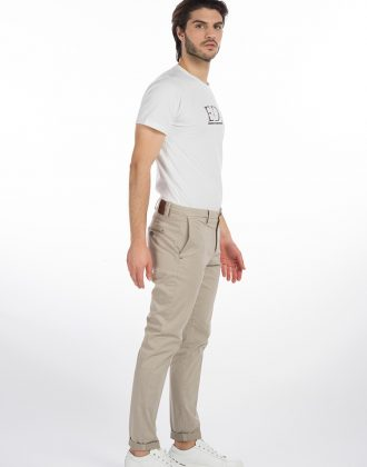 Pantalone righetto sabbia | Eredi Del Duca | Pantaloni Uomo
