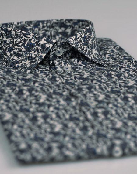 Camicia magnolia blu