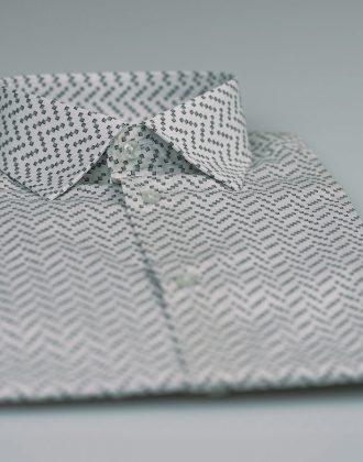 Camicia orchidea grigio