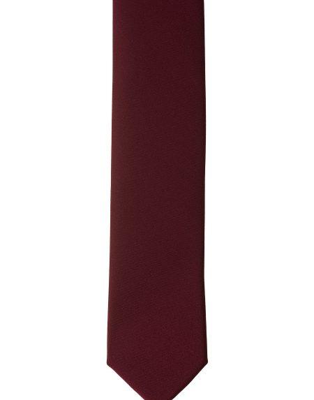Accessorio cravatta bordeaux