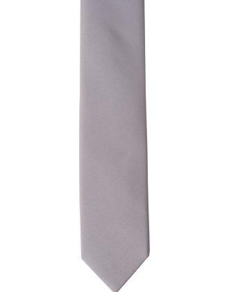 Accessorio cravatta grigio