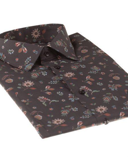 Camicia genziana nero
