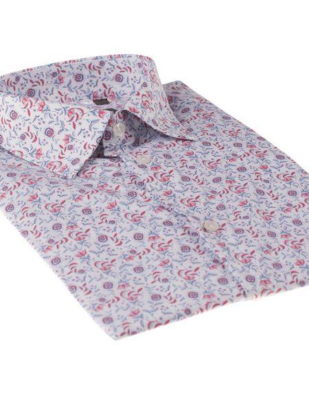 Camicia papavero bianco
