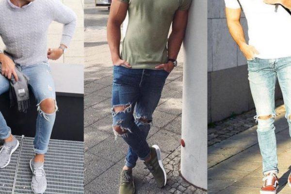 Jeans strappato largo o skinny, quale scegliere?