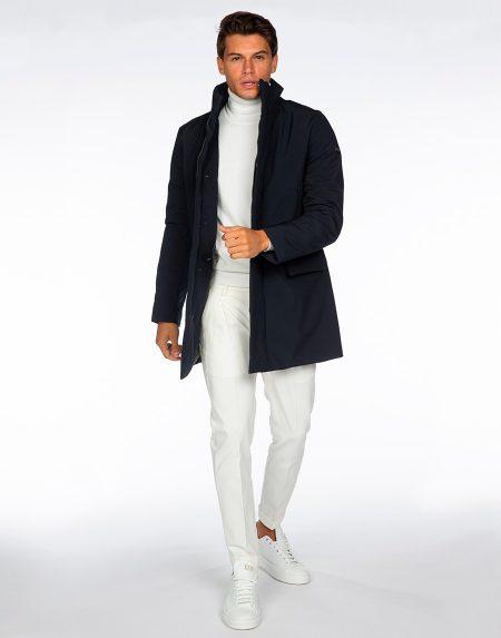 Cappotto 192t02038 blu