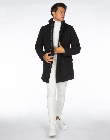 Cappotto 192t02038 nero