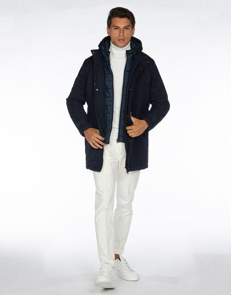 Cappotto 192t02039 blu