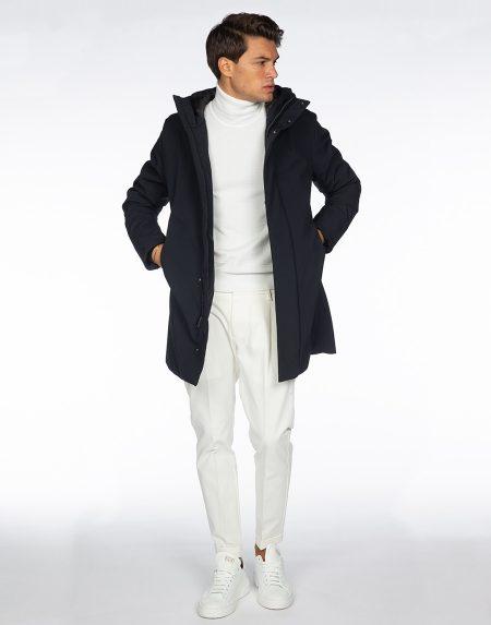 Cappotto 192t02060 blu