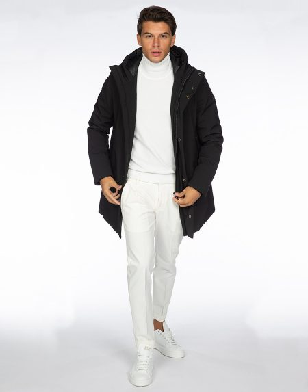 Cappotto 192t02060 nero