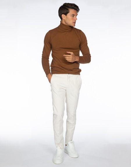 Pantalone acacia panna