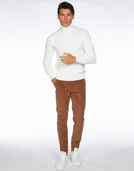 Pantalone acacia terra