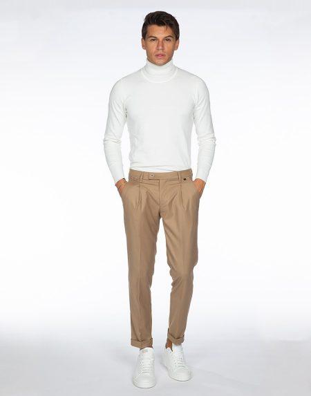 Pantalone aloe beige
