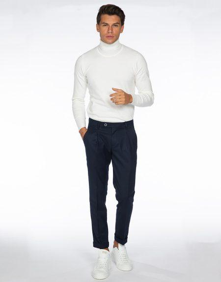 Pantalone aloe blu