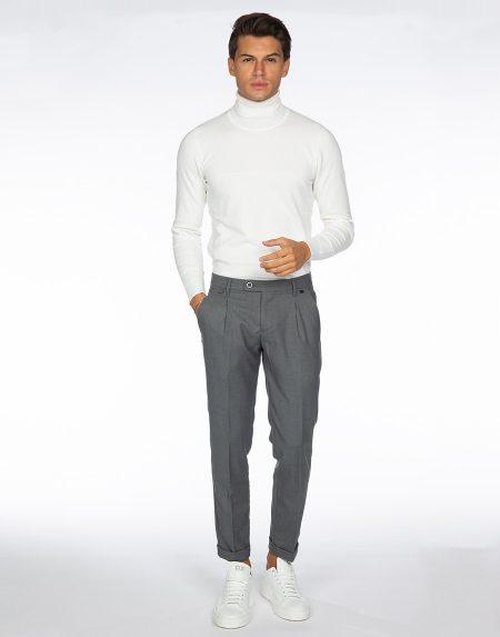 Pantalone aloe grigio