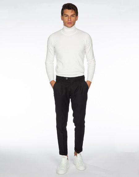 Pantalone aloe nero