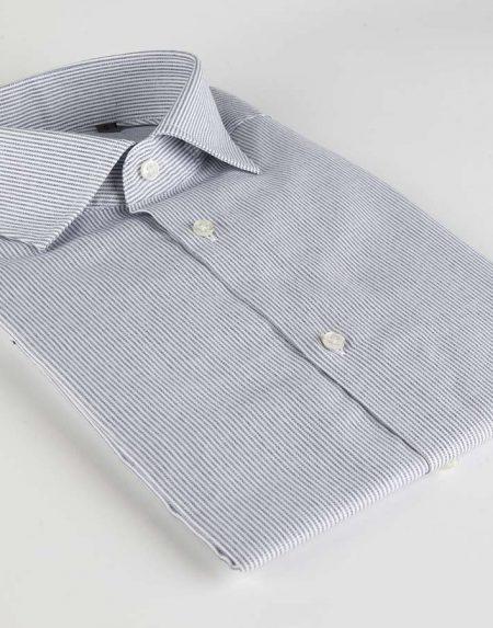 Camicia bucaneve blu