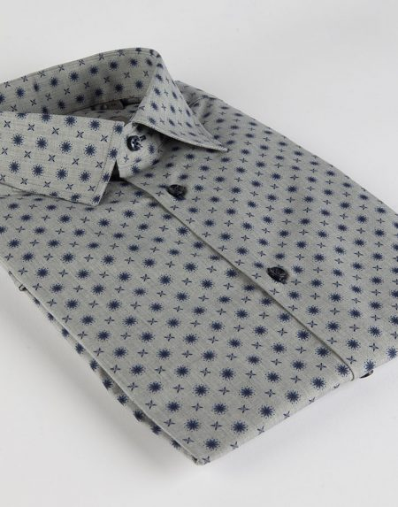 Camicia cardo grigio