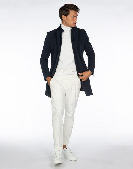 Cappotto ficus blu