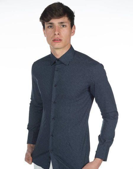 Camicia azalea blu