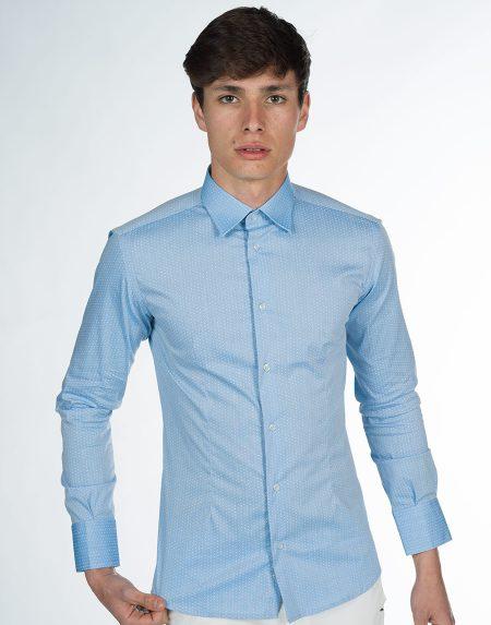 Camicia azalea celeste