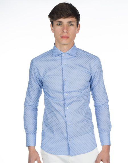 Camicia giacinto azzurro