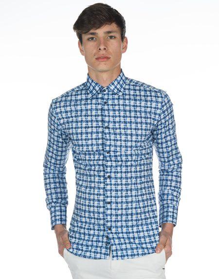 Camicia gotland blu