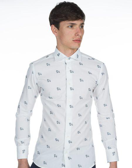 Camicia lipari bianco
