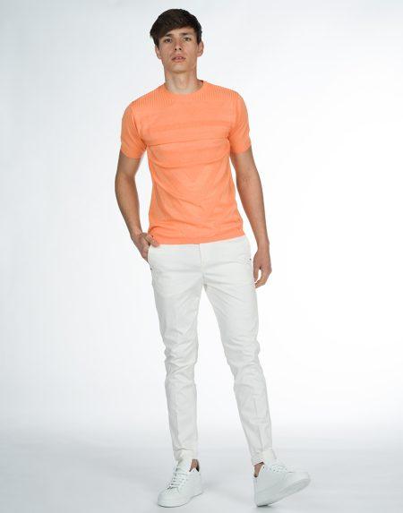T-shirt maori arancio