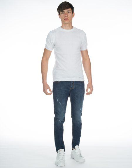 T-shirt maori bianco