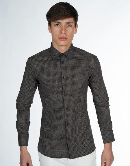 Camicia narciso nero