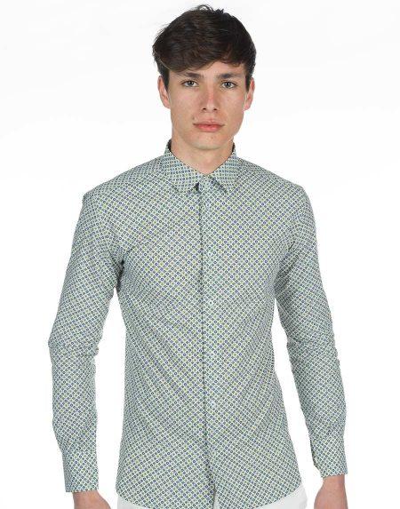 Camicia salina bluverde