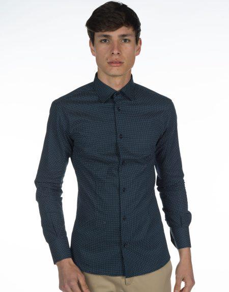 Camicia skye blu