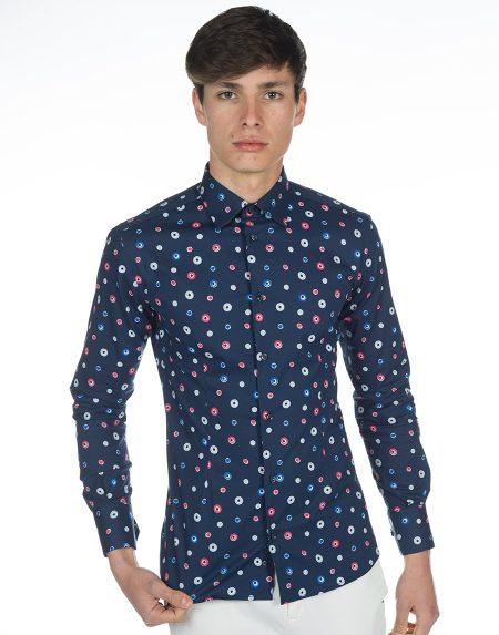 Camicia zante blu